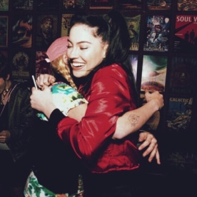 Our goodbye hug, until next time on May 3rd, where will be uploading the new and improved FVC X Bishop Briggs