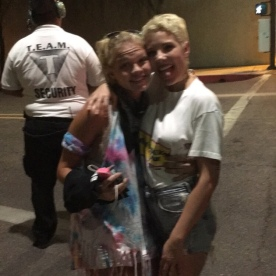 Lucky girl got to meet Halsey as well